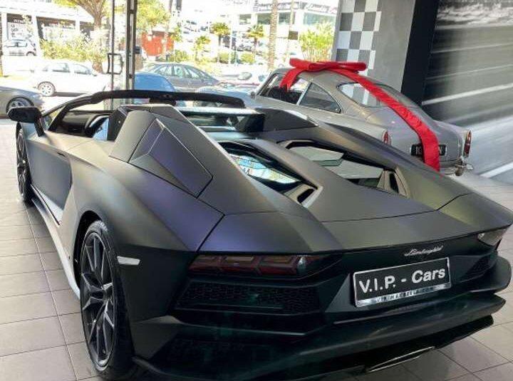 Lamborghini Aventador LP740-4 S Roadster